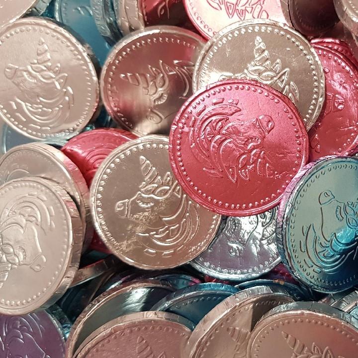 Milk Chocolate Unicorn Coins