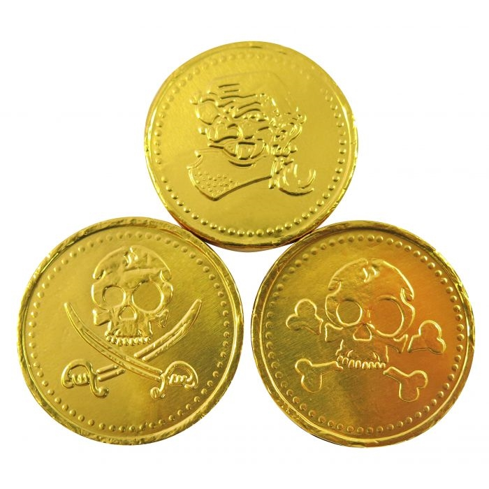 250g Pirate Coins
