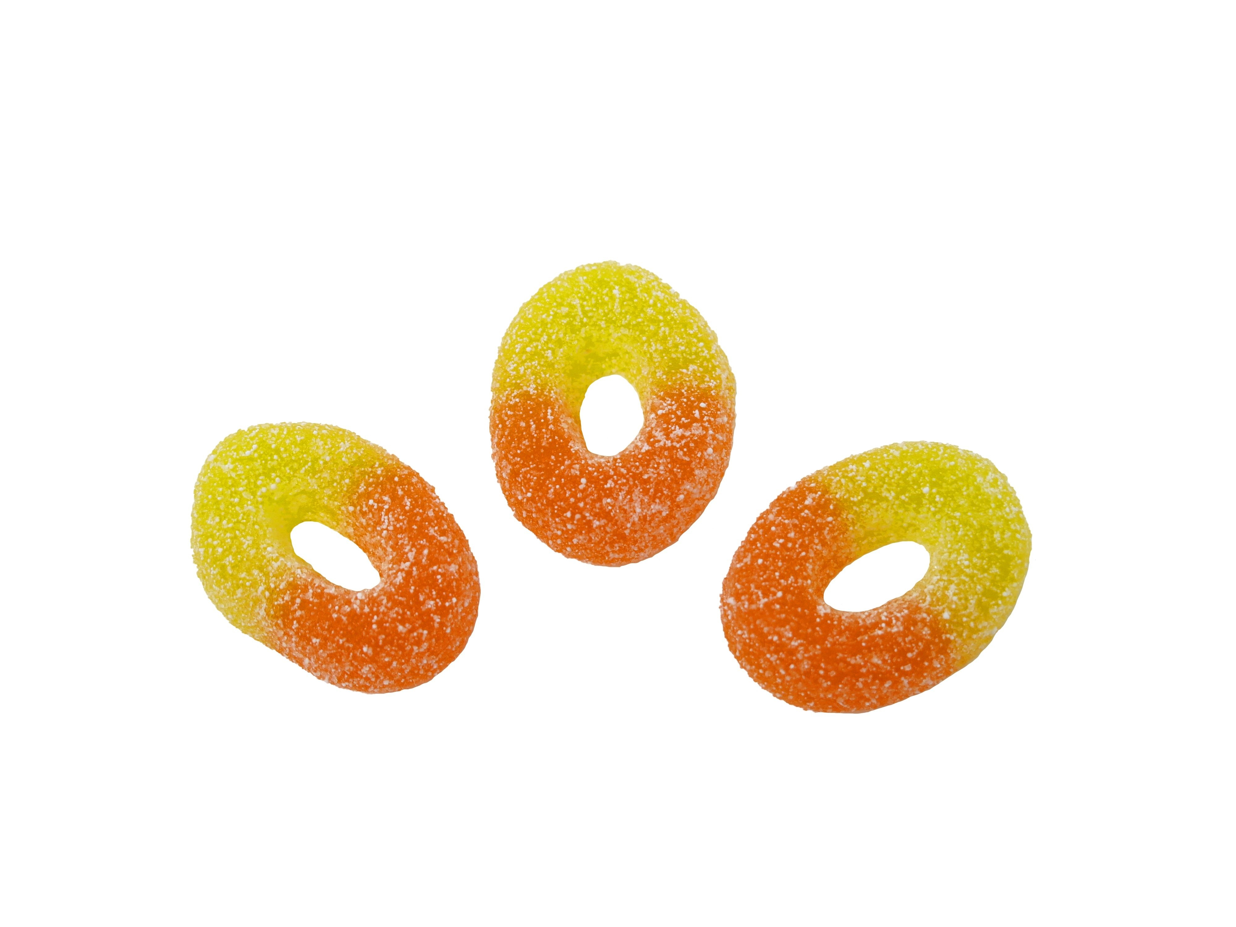 250g Peach Rings