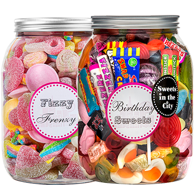 Giant Sweet Jars