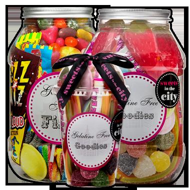 Gelatine-Free Sweets